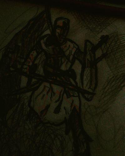 Soldier Of God Art Paint
