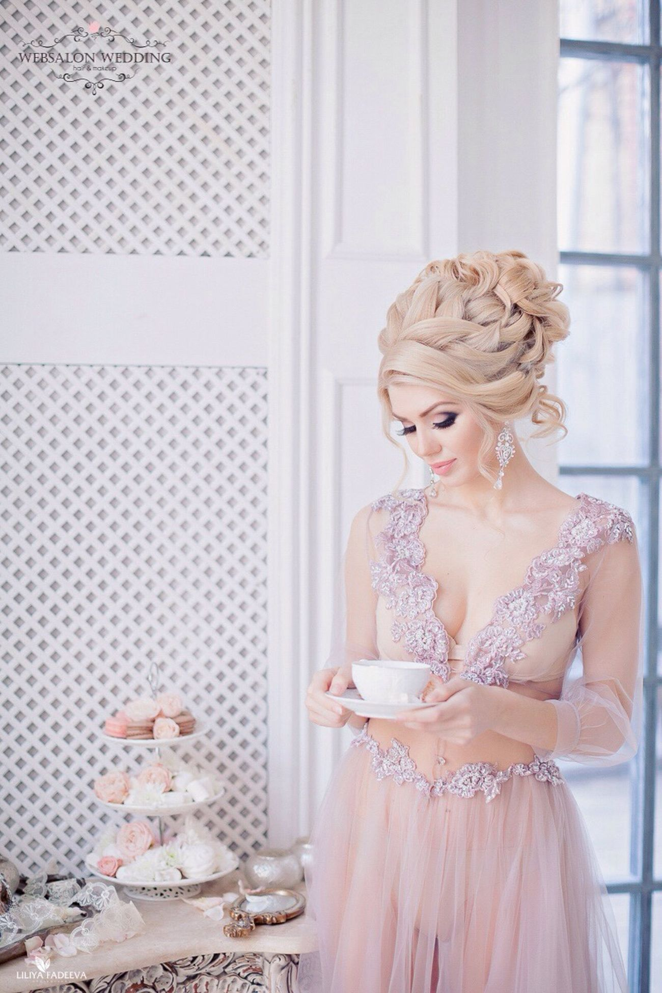 Girl Long Hair Happy Wedding Hairstylist Blondehair Novia2015 Blondie Weddingdetails Hairdresser Blonde Hair