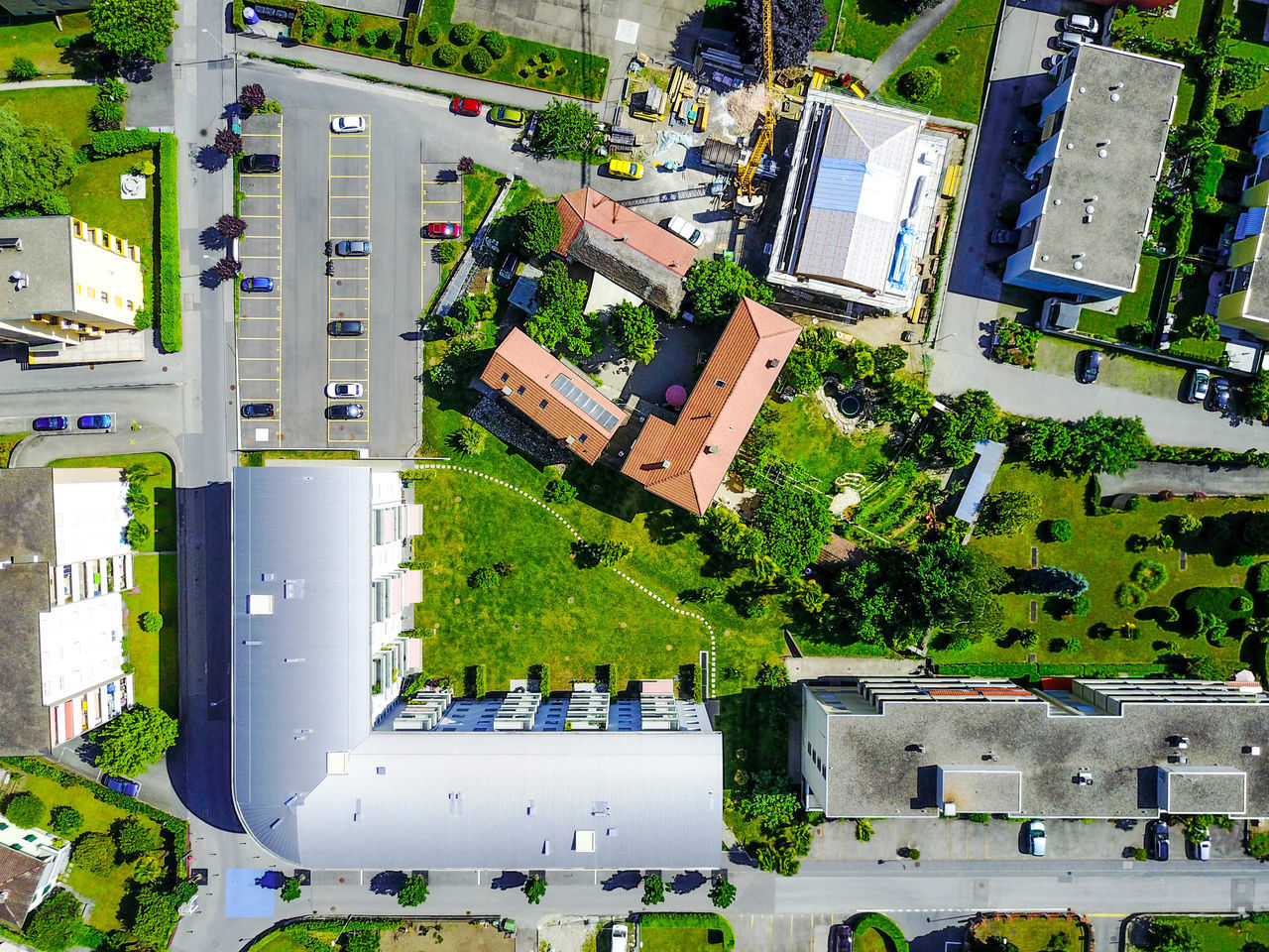 Architecture Building Exterior Built Structure City Day Drone Moments Drone Photography Dronephotography EyeEm Best Shots EyeEm Gallery Folowforfollow High Angle View Outdoors Residential Building Roof