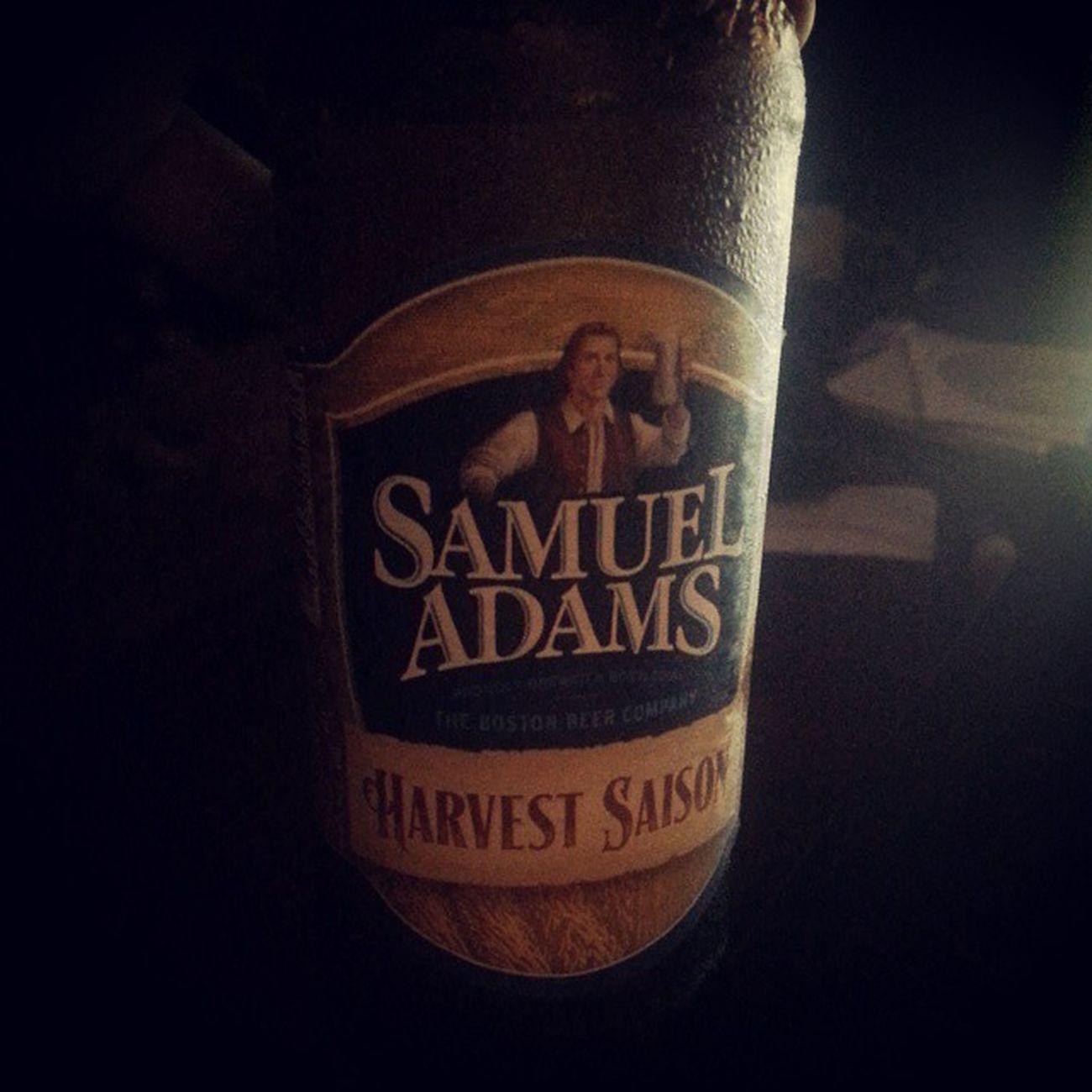 Next up!! Samueladams Harvest Beer