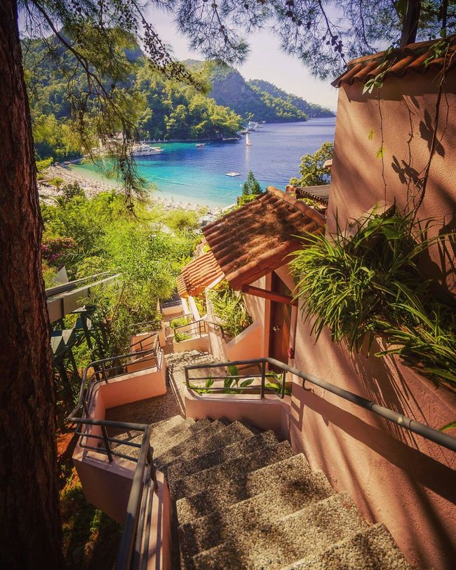 Hillside Fethiye Turkey Tranquil Scene Scenics Sea And Sky Seascape Sea View Countryside Beauty In Nature Holiday POV Summer Views Summer Holidays Non-urban Scene Mountain Tranquility Shore Landscape_photography Nature Photography Summer Colours EyeEm Masterclass