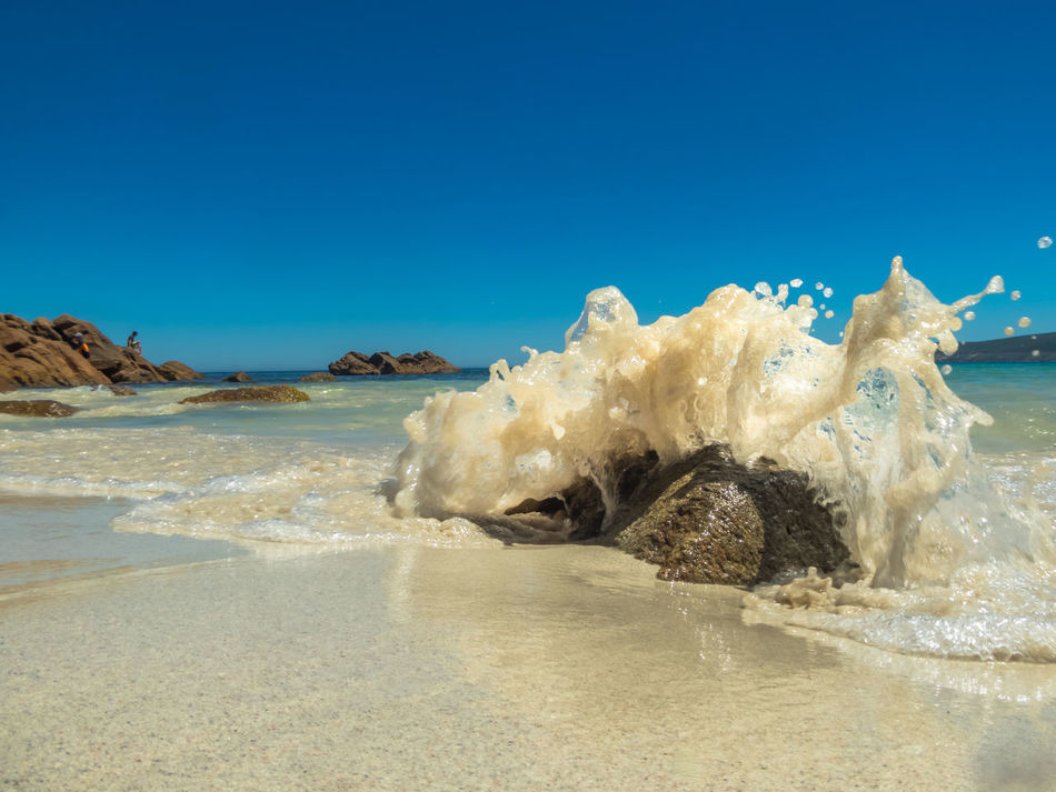 Smiths Beach Yallingup. One of my Mindful moments Australia Beach Beach Photography Beachphotography Beauty In Nature Blue Sky Clear Sky Day Gold Landscape Mindfulness Nature No People Outdoors Rock Sand Sand & Sea Sea Seascape Sky Sun Water Wave Waves And Rocks Yallingup