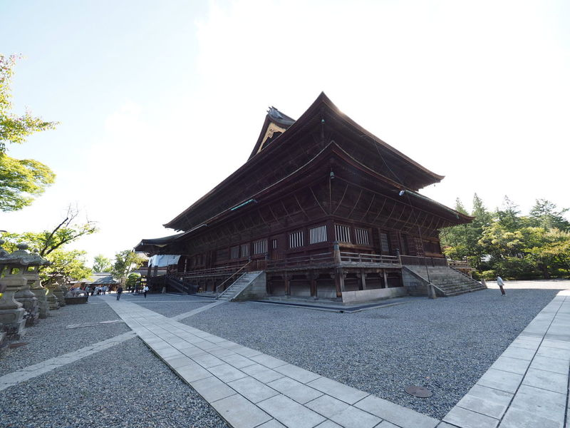 EEA3-Nagano 善光寺 (zenko-ji Temple)
