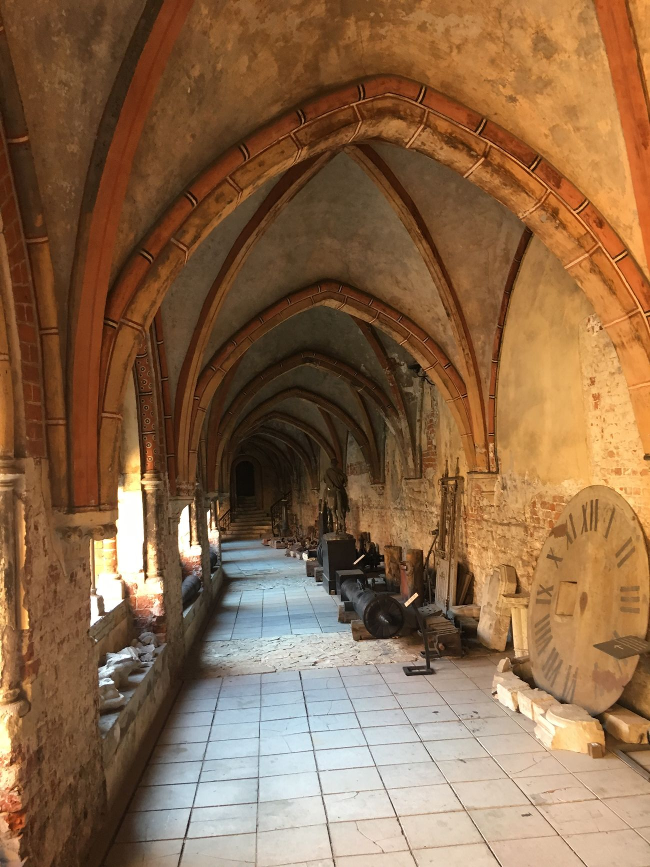 Riga Cloister Walking Around Baltics2k16