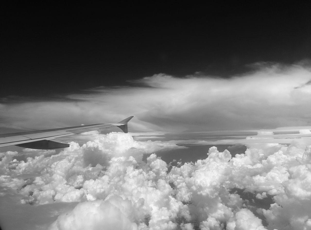 Above the Clouss No People Cloud - Sky Nature Sky Beauty In Nature Nature Sky Flying In The Sky
