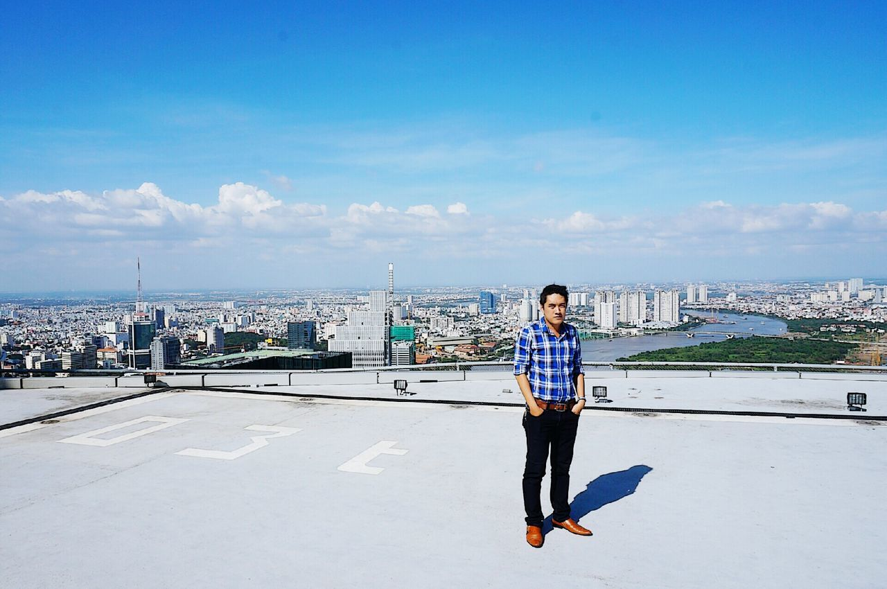 °°° Top of icon68 °°° That's Me Hello World Landscape Bitexco Check This Out Saigon Heli Park