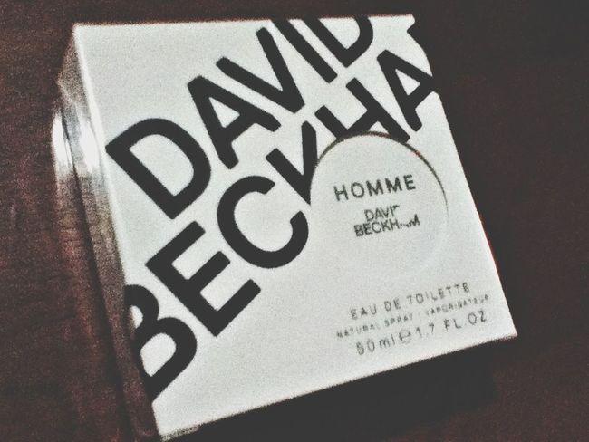 David Beckham's perfume