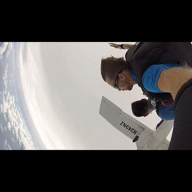 セスナから飛び出た瞬間、この映像が脳裏に焼き付いてる‼ Sky Guam Gopro Skydive Webstagram Freefall Hafaadai グアム スカイダイビング Skydving ソラトビ