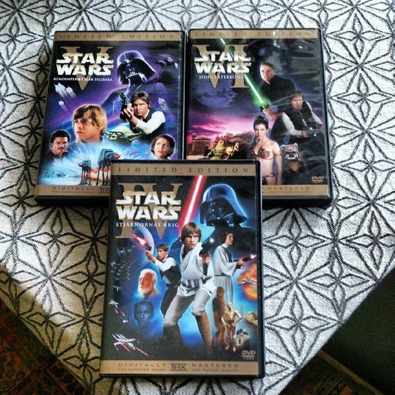 Skitväder idag. Passar på att köra Star Wars-maraton med de tre första filmerna. Movielover Livsnjutare