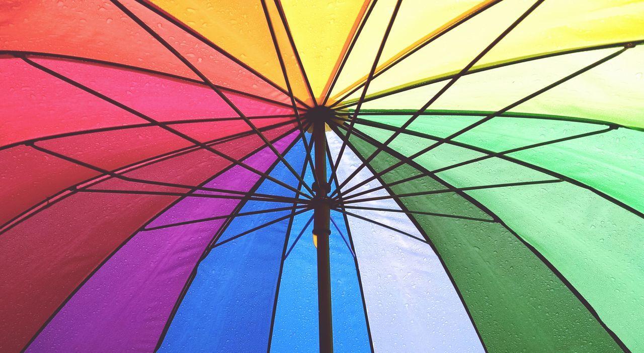 Beautiful stock photos of umbrella, Close-Up, Multi-Colored, No People, Panoramic