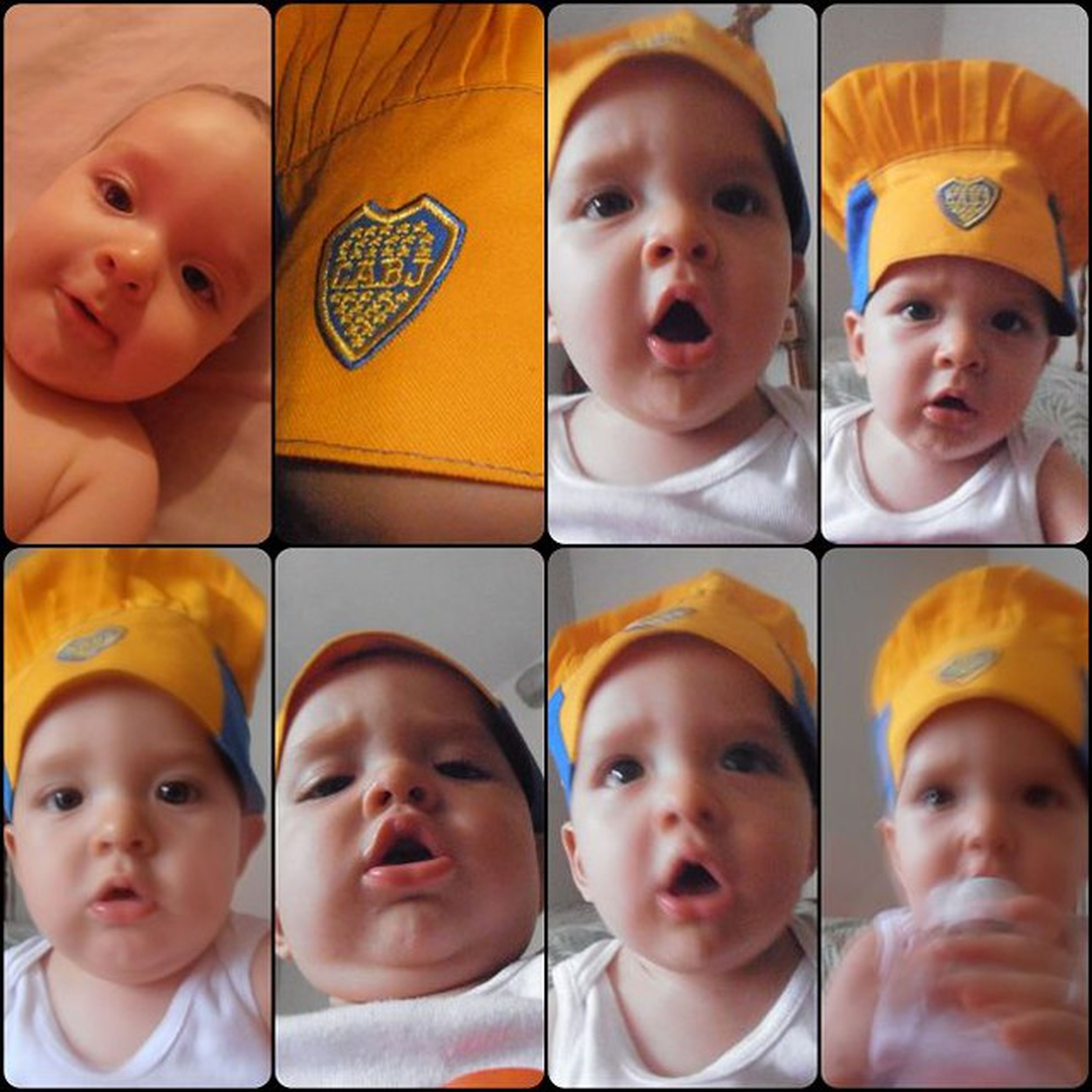 my Babyboy Chef Bocajuniorhat collage
