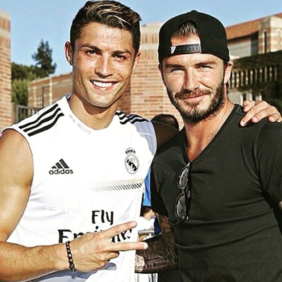 My Favorites The best footballers The Legends of Football Style Icons David Beckham & Cristiano Ronaldo Legends Favourites Best  Footballers Styleicons Style Icons Footballportugal Englishfootball Davidbekham Cr7 CristianoRonaldo Football Cr7fans Penaldo Kings