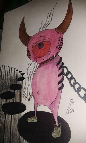 Drawing Art Doodle Smoke