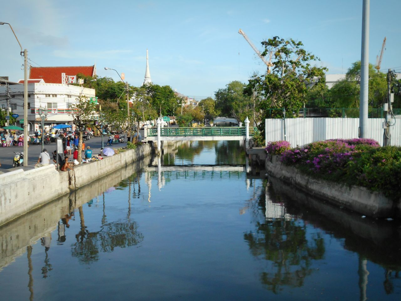 Canal : Water and Reflection, Landscape, Cityscape, Clound&Sky, Check This Out .