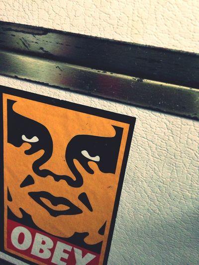 OBEY Stickers Shepard Fairey