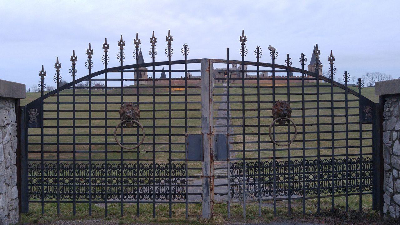 Castle Iron Gate Gate