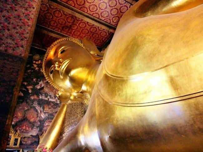 วัดโพธิ์ Temple Buddha Statue Bangkok Thailand. Thailand Thai Temple Bestshot Best EyeEm Shot Travel Wat Pho Bsngkok Thailandtravel