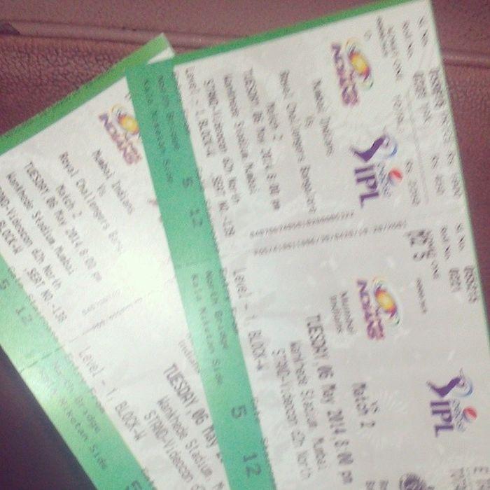 Wowuhhhhuuu.!! Free ticket Mi Rcb @yash_gimonkar Fun Wankhede north_stand @mi_paltan dilsemi akhaa_mumbai khelga