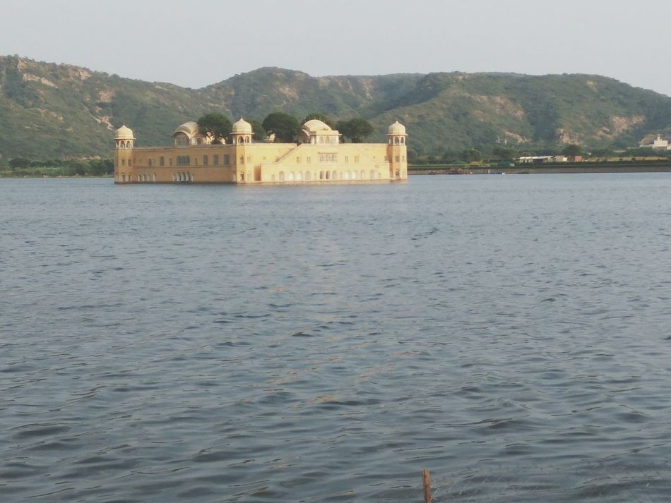 TakeoverContrast Jaipur,India Jal Mahal Beauty In Nature