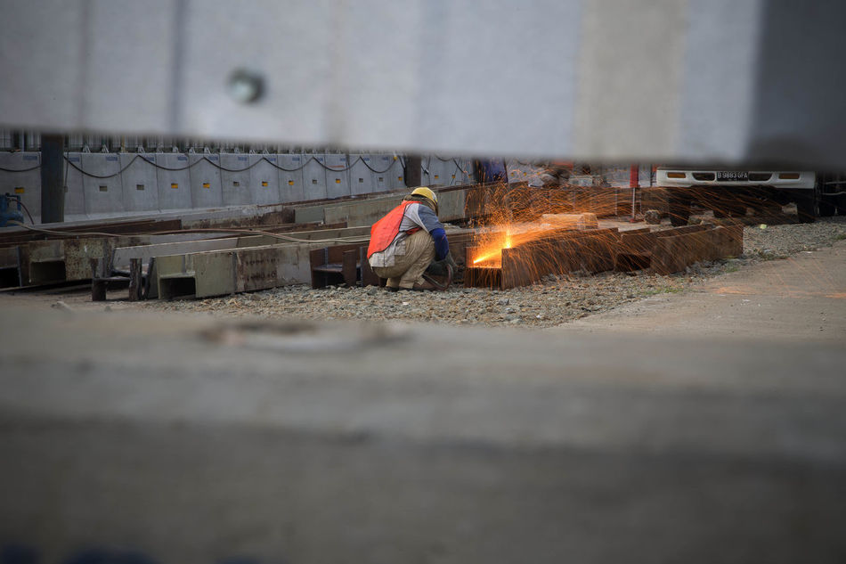 Beautiful stock photos of construction, Construction Industry, Construction Site, Crouching, Day
