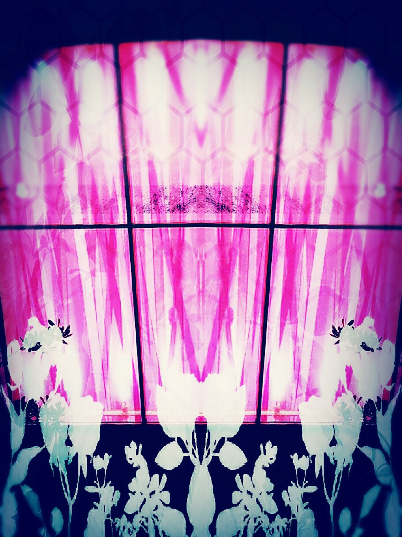 The Spectral Flora Opera Soullessphotography Phoneography Victoria's Secret Pink Pixlr EyeEm Mirror Mirror Photo