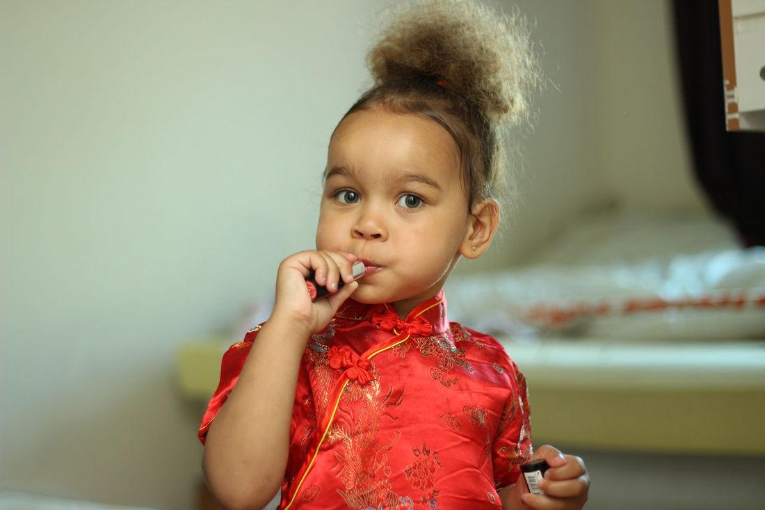 EyeEm Selects Child Childhood Portrait Cute Dress Hair Lippy Daughterlove Beauty Kidsphotography Princess