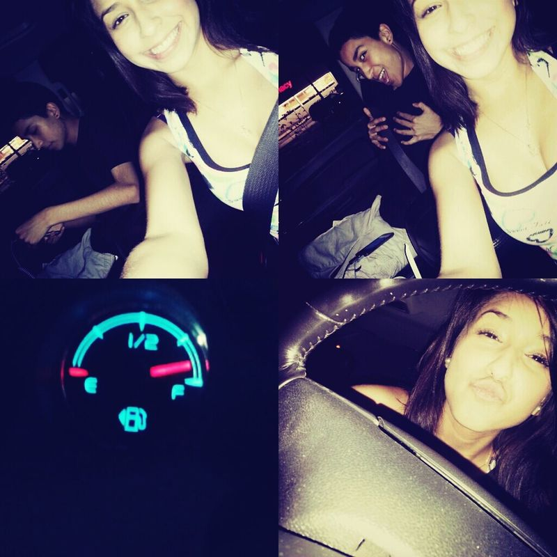 crusin aroung with my brother. Almost full tank && no weree to go