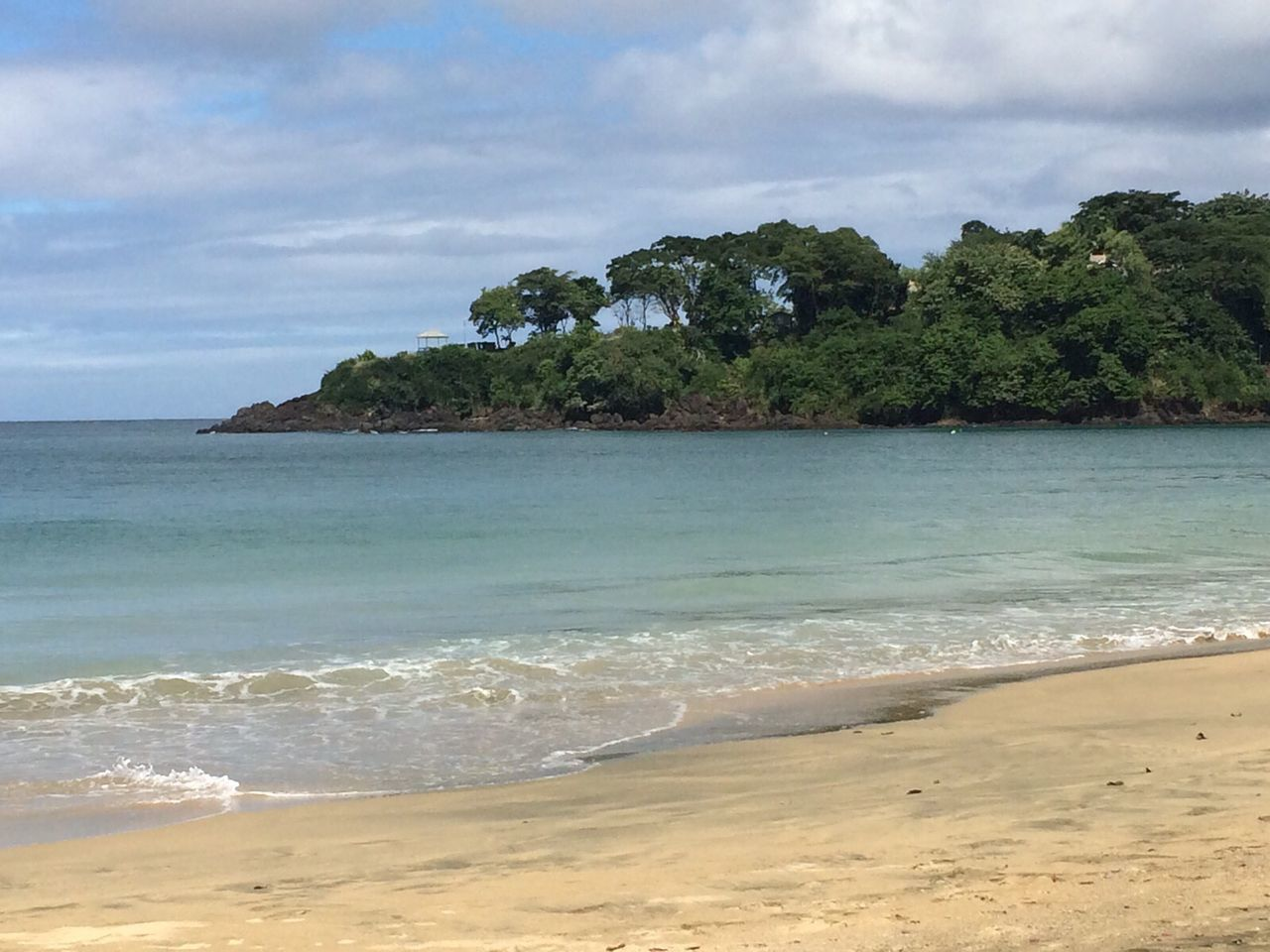 Beach Beauty In Nature Cloud - Sky Day Graftonbeach Horizon Over Water Nature No People Outdoors Sand Scenics Sea Shore Sky Tobago Tobago Beach Tranquil Scene Tranquility Tree Trinidad Trinidad And Tobago Water
