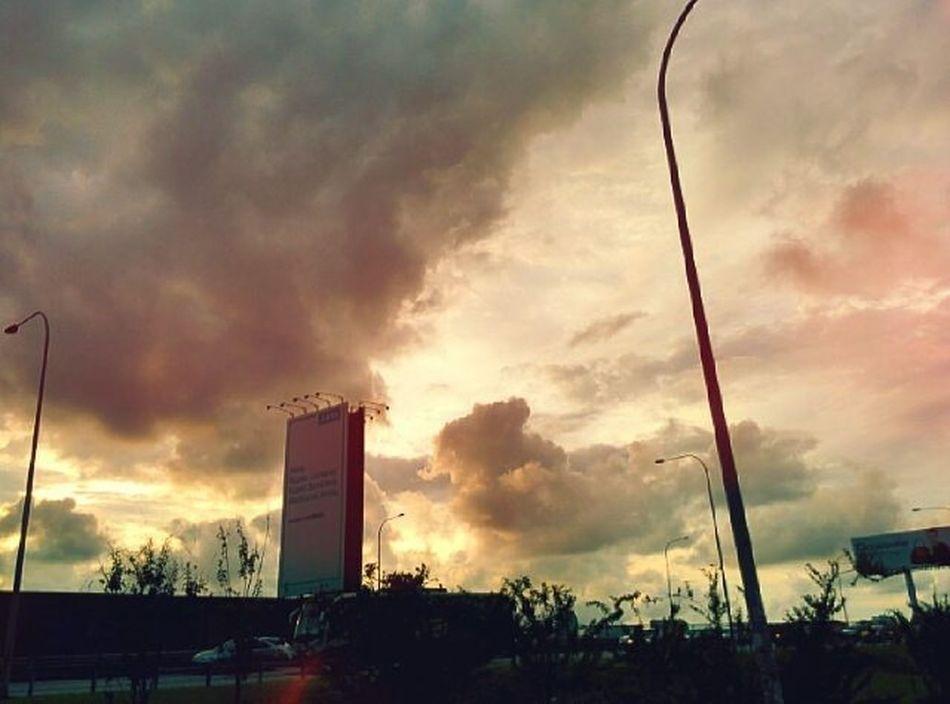 Sunset Sunset Afterwork Cloud Senja  Awan Scenery Nexus5photography Mixcamera360 Wonderful World
