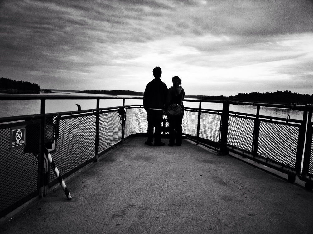 WeAreJuxt.com at Washington State Ferry by @bradpuet