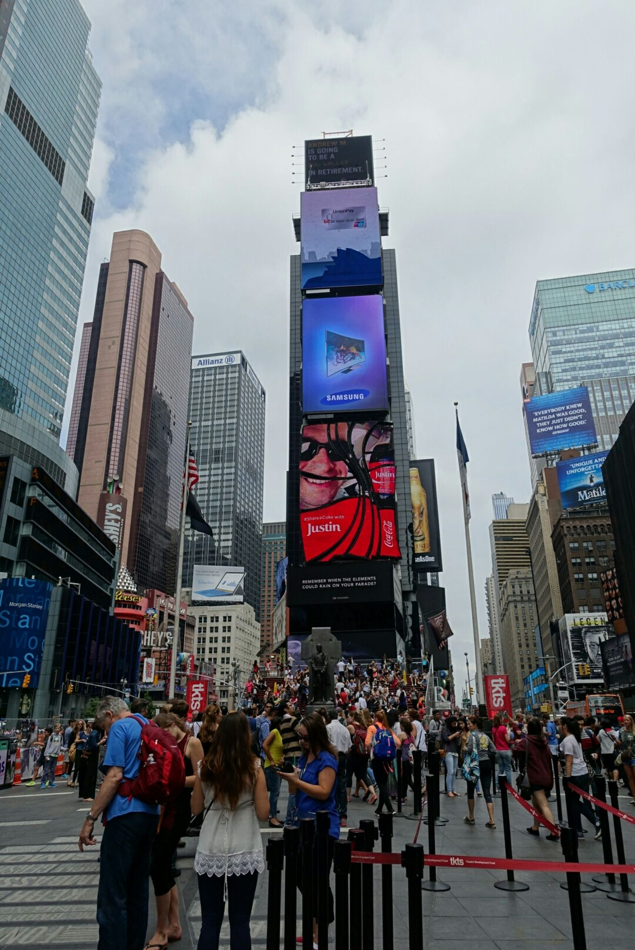 Enjoying Life NYC Times Square