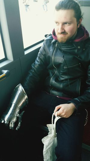 man in the bus Samsung Galaxy S4 Model Urban Urbanphotography Bus Freaky Freak Gloves And Helmets Glove Shopping Inthebus Outoftheordinary Extraordinary  Außergewöhnlich Everyday Emotion Fresh On Eyeem