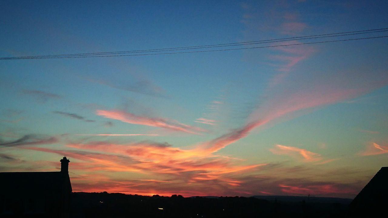 Beautiful Sky Colourfulsky Sky Holmfirth