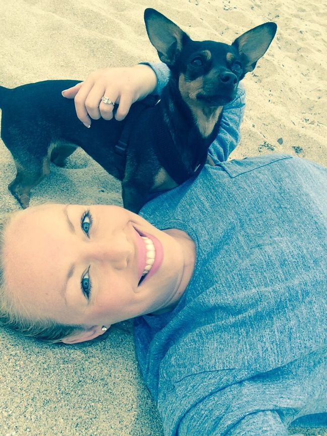 It's A Dogs Life Pippa Beachphotography Why I Love Florida Selfportrait