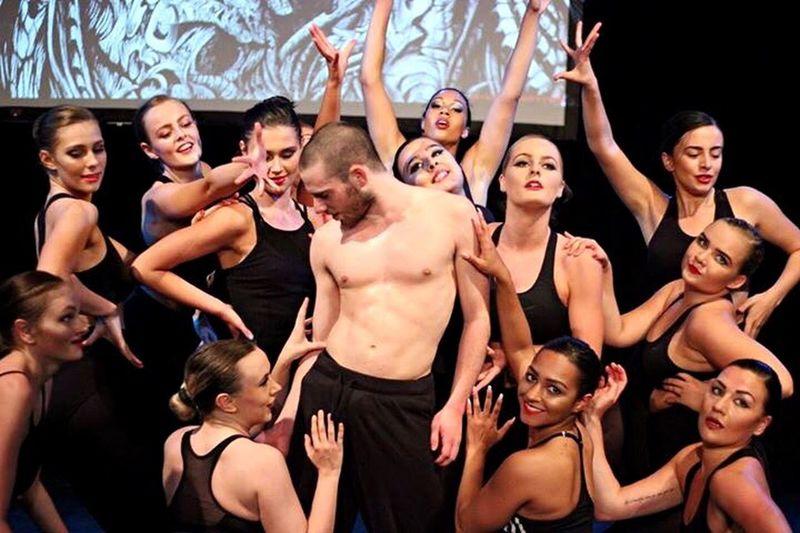 Dancers Dancing Action Shot  Show