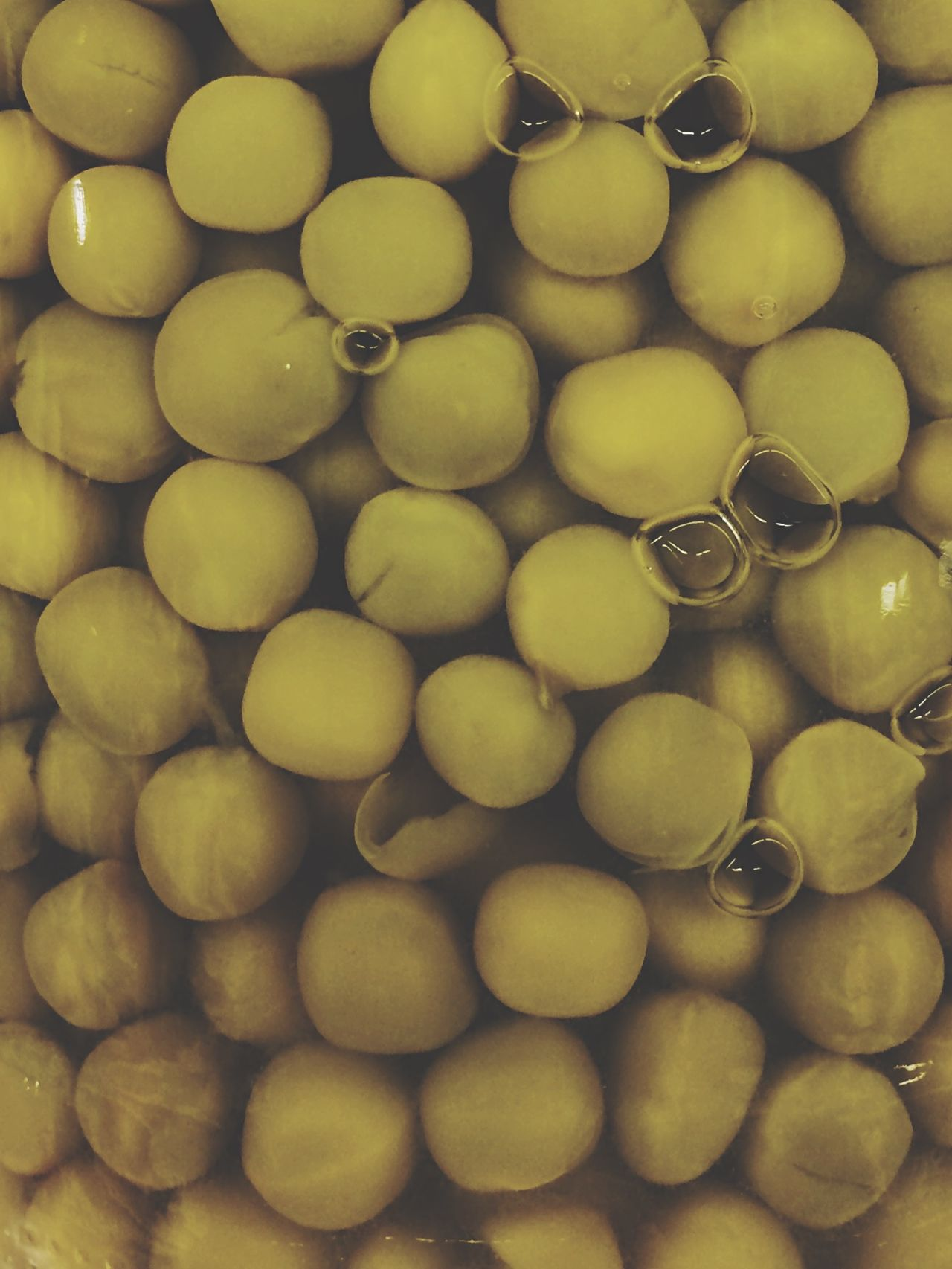 Peas Pattern Organic Food Water