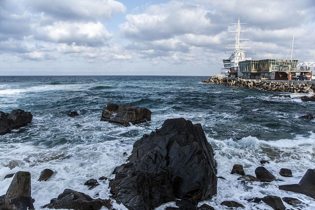 Jeongdongjin Winter Sea Restaurant Sun Cruise South Korea Korea Gangreung