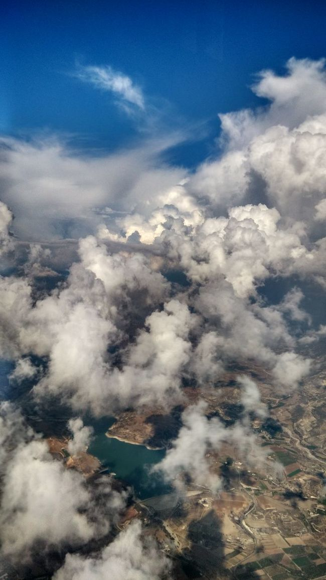 Clouds And Sky Cloudporn From An Airplane Window Travelling Reflected Glory Aerial Shot Landscapes With WhiteWall