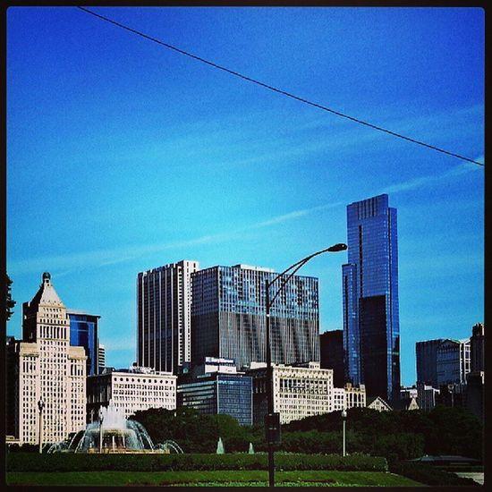 Chicago skyline lake shore drive