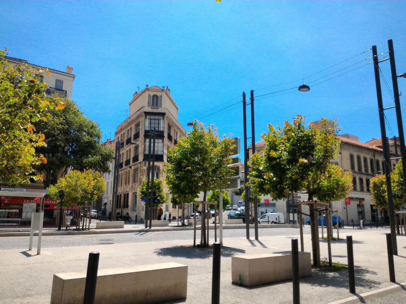 Landscape Landscapes Square Squareinstapic Trees Sky View Street Architecture Design Thearchitect-2016-eyeemawards TheArchitect2016EyeemAwards Marseille Provence France