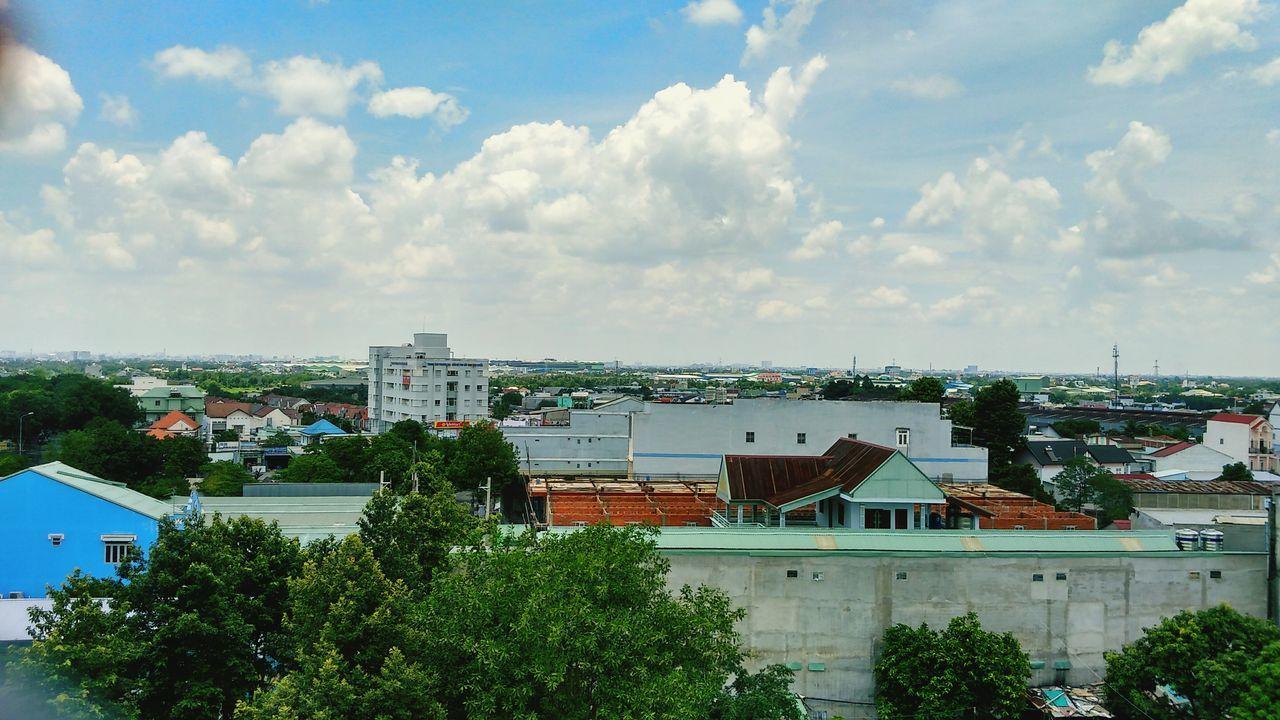 Nhìn sai gòn từ trên cao... Saigon ThủĐức Green Color First Eyeem Photo