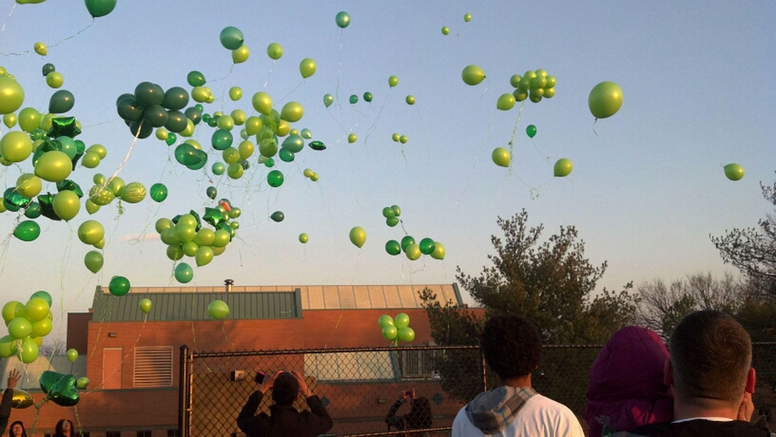 my baby girls balloon release . we missing you like crazy down here Lauryn. hope & pray you're in heaven having it up Angel. I love you Lauryn Santiago <3 #E4L Rest in paradise