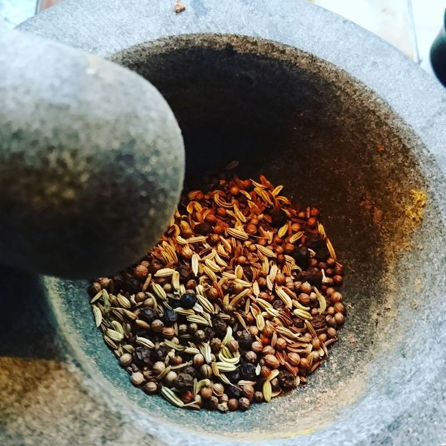 Roasting and grinding your own spices... Just loving it Food And Drink Healthy Eating Spices Spiced Up Spices Of The World