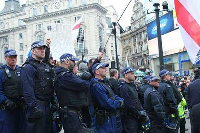 Obligatory defense. Activism Art Activism Racism Racist Police Law London Britain Pigs Defense