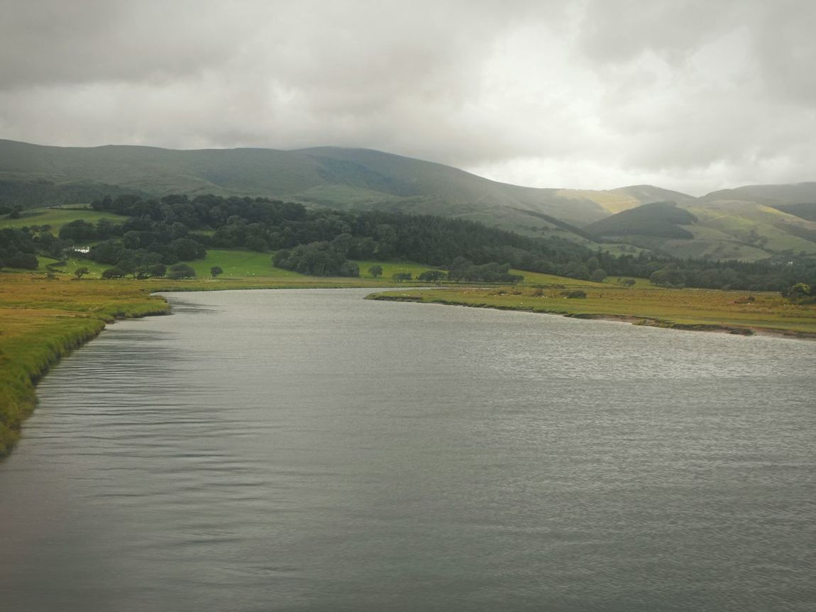River .... Wales North Wales Water Hills Mountains Landscape река холмы Summer