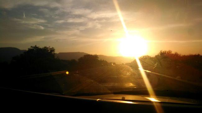Hidden Gems  Clouds Sky Arizona Street Cars Showcase July Sunset Arizona SkyHorizon In A Car Colour Of Life