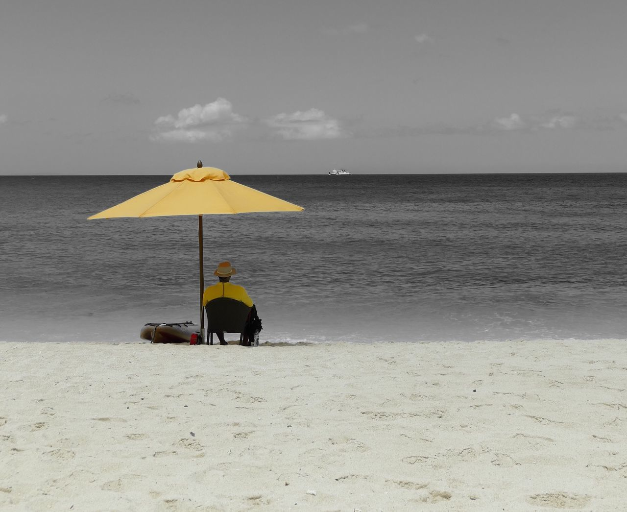 Boracay On My Mind Beach Photography Beach Life Beachlife Solitude Boracay Island, Philippines Beachphotography Summer Life's A Beach Leica Vlux Type 114 Leicacamera Chilling Chillin' Chillingatthebeach Chilling At The Beach Yellow Landscapes With WhiteWall