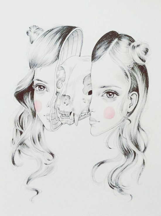 Cinnamonearthgrrl Avoidingreality Introvertswagger Duality Twoface Empathy