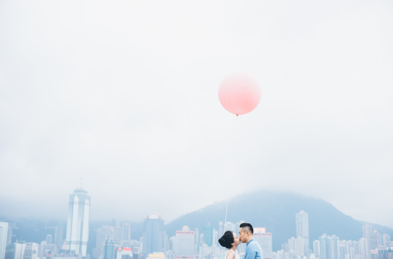 Beautiful stock photos of wedding, built structure, building exterior, architecture, balloon