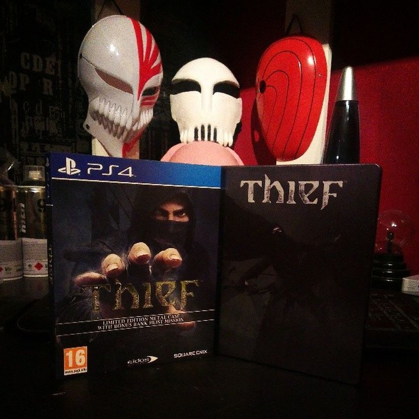 It Arriiiiiiiived :D PS4 Thief Steelbook Awesome limitededition natlus tobi hollowichigo neoino squareenix eidos